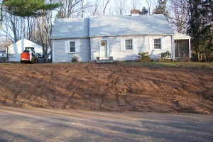 Re-Grading a Front Yard