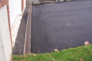 Driveway Drain Installation