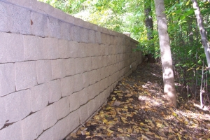 Rebuilding & Repairing a Retaining Wall